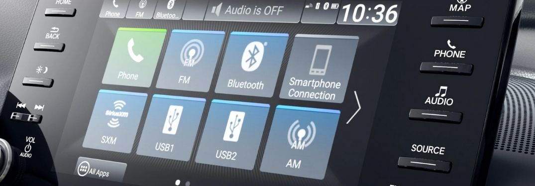 Close Up of 2020 Honda Accord Display Audio Touchscreen
