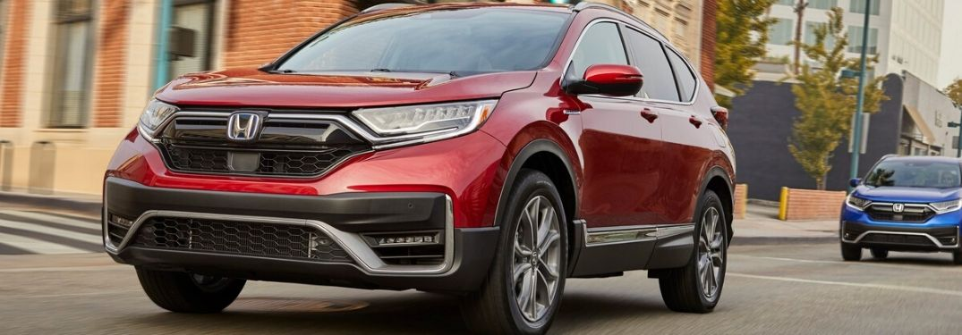 New 2020 Honda CR-V Hybrid is More Powerful and More Efficient