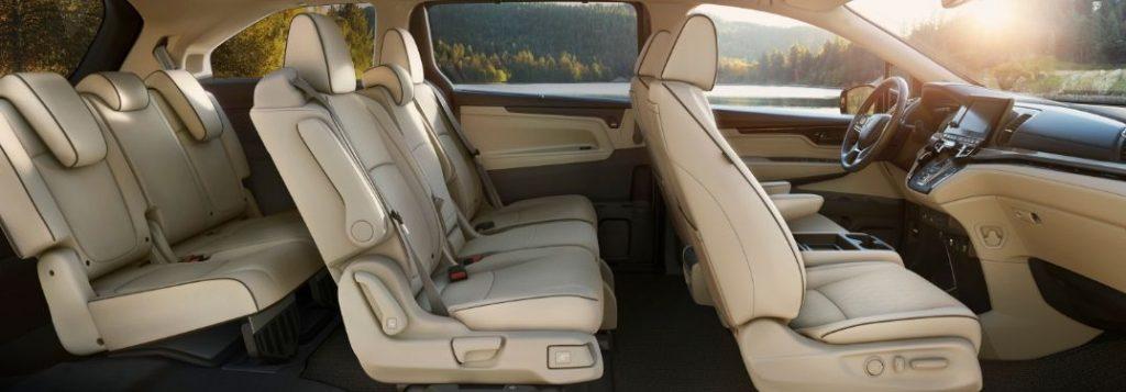 Cutaway View of a 2021 Honda Odyssey Interior