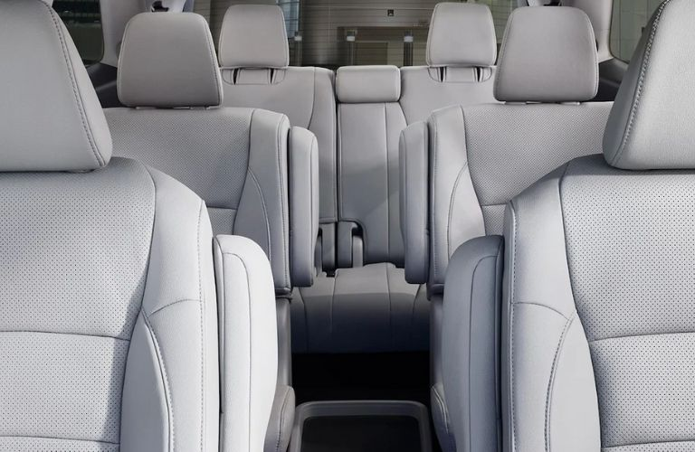 Front to Rear View of 2021 Honda Pilot Interior