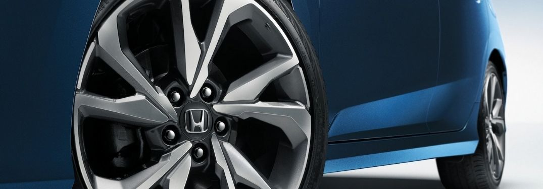 Close Up of 2020 Honda Civic Sedan Wheel and Tire