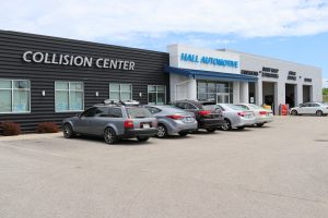 Hall Automotive and Collision Auto Body Repair shop.
