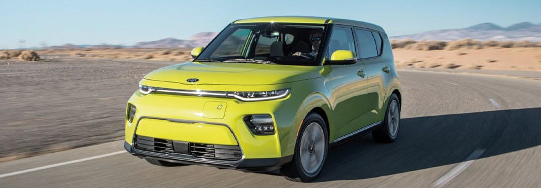 front view of Kia Soul EV