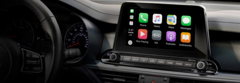 2020 Kia Forte display screen