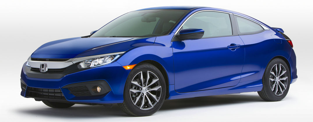 2016 Honda Civic Coupe Release Date and Design at Allan Nott-Lima OH-Blue 2016 Honda Civic Coupe Exterior