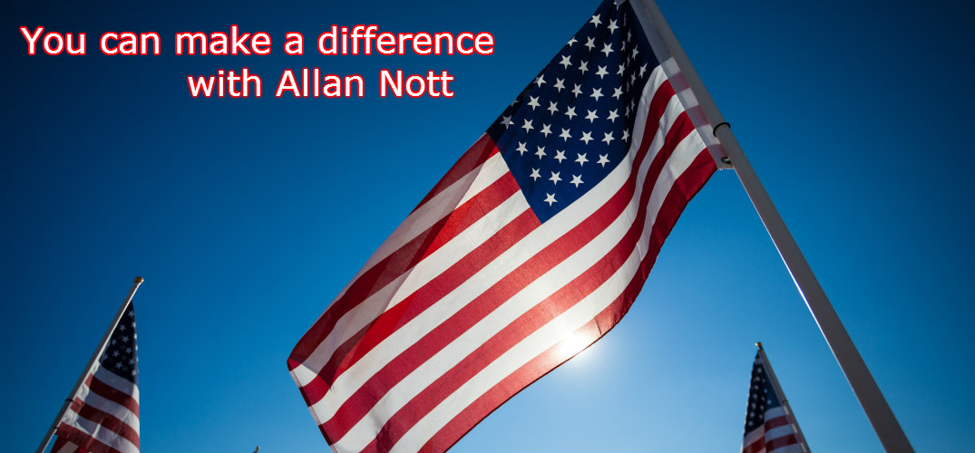 Allan Nott donates portion of May sales to veterans services