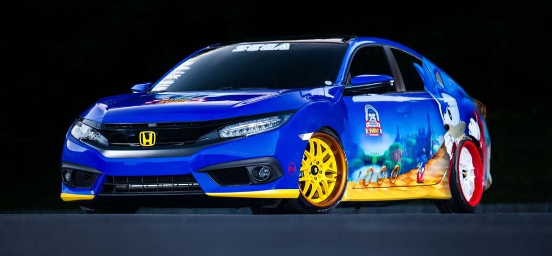 "Special Honda Civic goes super ""Sonic"""