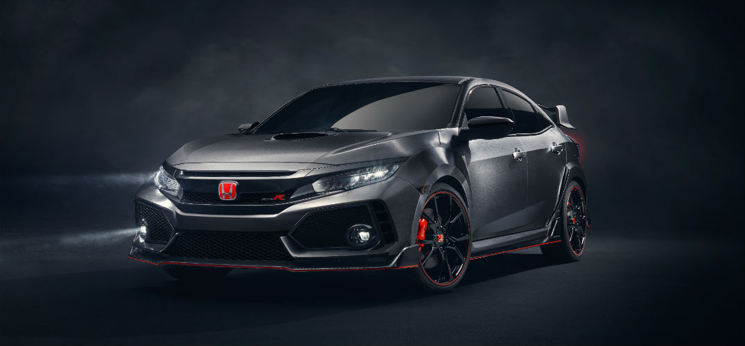 Get an early peak at the Honda Civic Type R