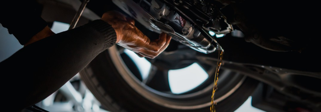Transmission fluid leaking from a vehicle