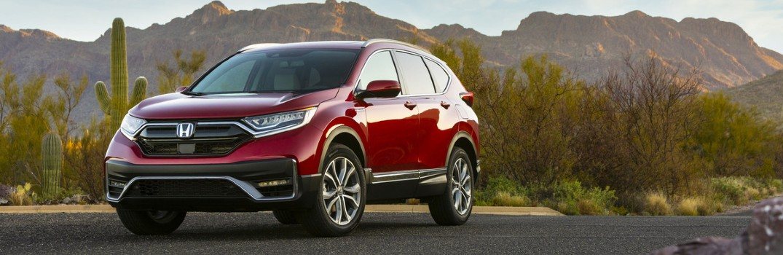 2021 Honda CR-V Hybrid Exterior Driver Side Front Profile