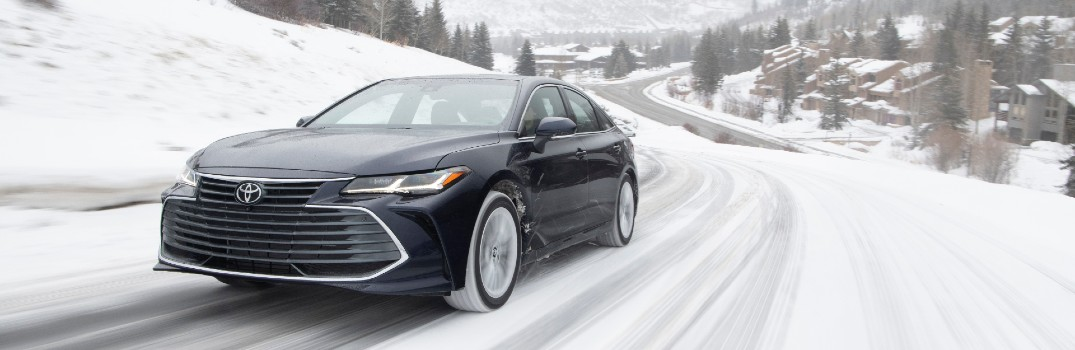 Tips for Driving in Winter Road Conditions from Toyota