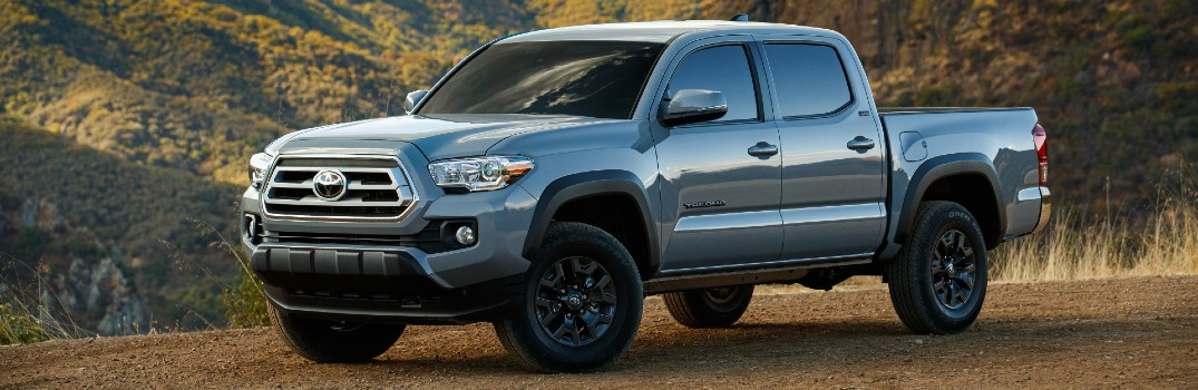 2021 Toyota Tacoma Trail Edition Exterior Driver Side Front Profile