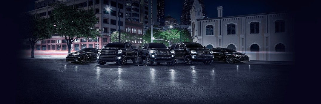 2021 Toyota Nightshade Edition Family Lineup