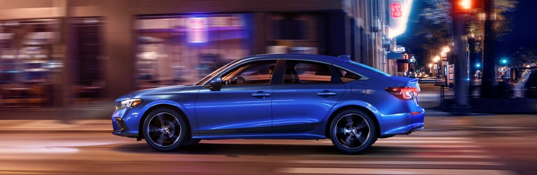 2022 Honda Civic Sedan Touring Exterior Driver Side Profile