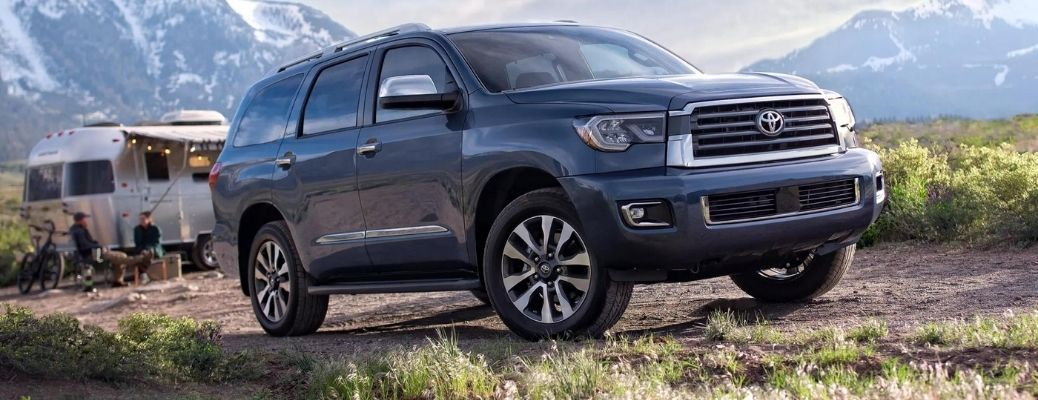 2022 Toyota Sequoia Front Right-Quarter View