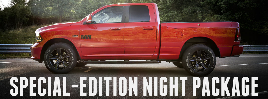 2017 Ram 1500 Special Edition Night Package