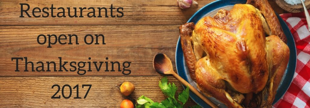 restaurants open on thanksgiving 2017 kenosha