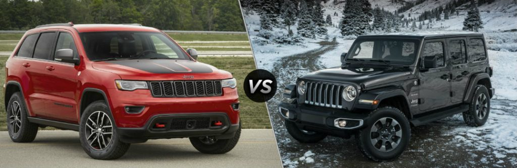 Jeep Grand Cherokee Certified Pre Owned >> 2019 Jeep Grand Cherokee vs 2019 Jeep Wrangler