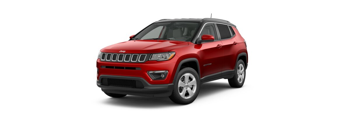 2019 Jeep Compass Latitude Redline Pearl-Coat Black Clear-Coat