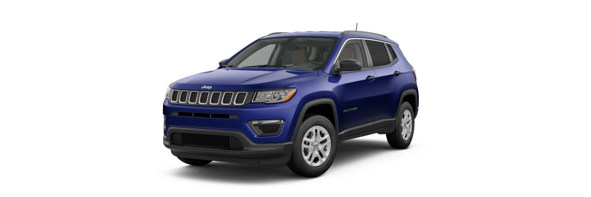 2019 Jeep Compass Sport Jazz Blue Pearl-Coat