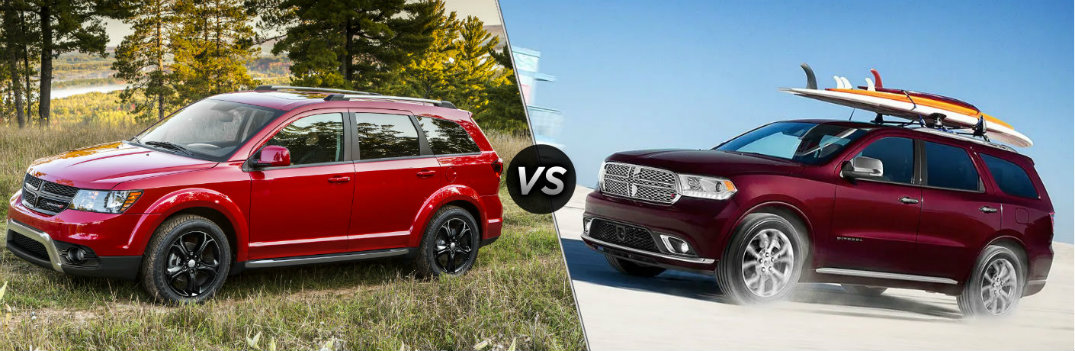 2019 Dodge Journey vs 2019 Dodge Durango
