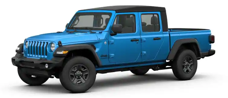 2020 Jeep Gladiator Hydro Blue