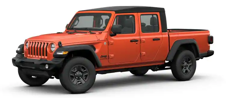 2020 Jeep Gladiator Exterior Color Options Gallery ...