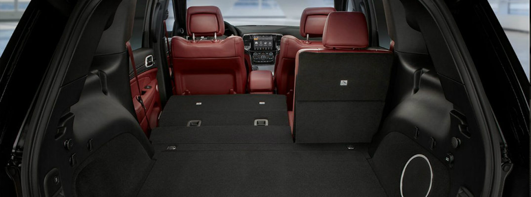 How Much Cargo Space is in Each Jeep Model?