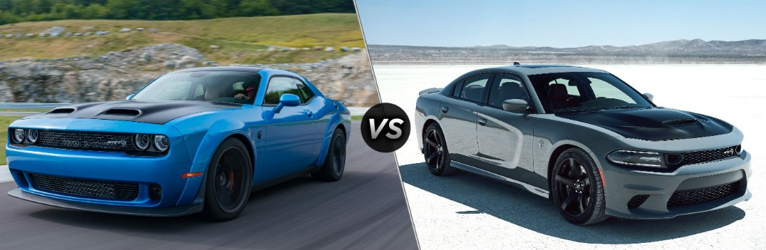 2019 Dodge Challenger SRT Hellcat vs 2019 Dodge Charger SRT Hellcat