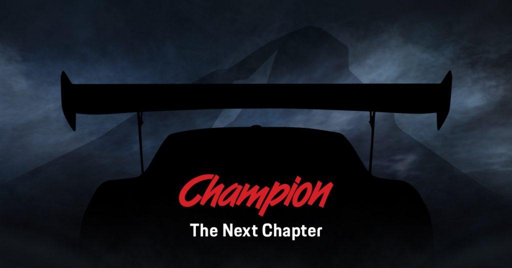 Champion Returns to Racing