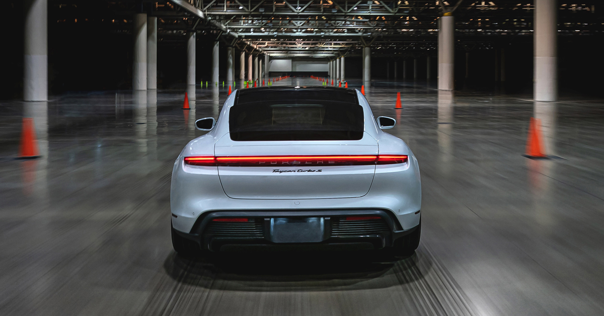 Porsche Taycan Sets New Record