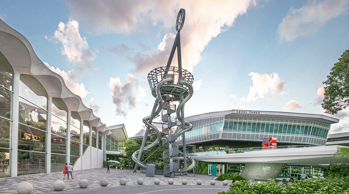 Champion Racing to the Clouds with Aventura Mall