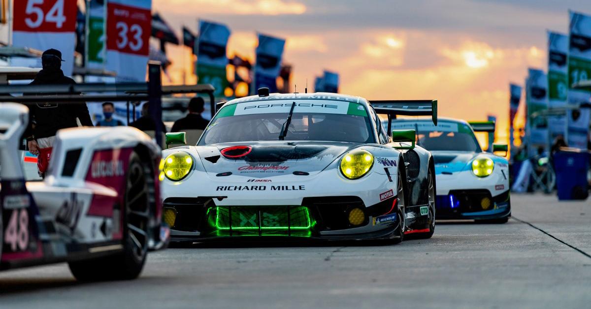 Champion Porsche Joins Richard Mille To Support Katherine Legge, Christina Nielsen at Mobil 1 Twelve Hours of Sebring For IMSA WeatherTech SportsCar Championship