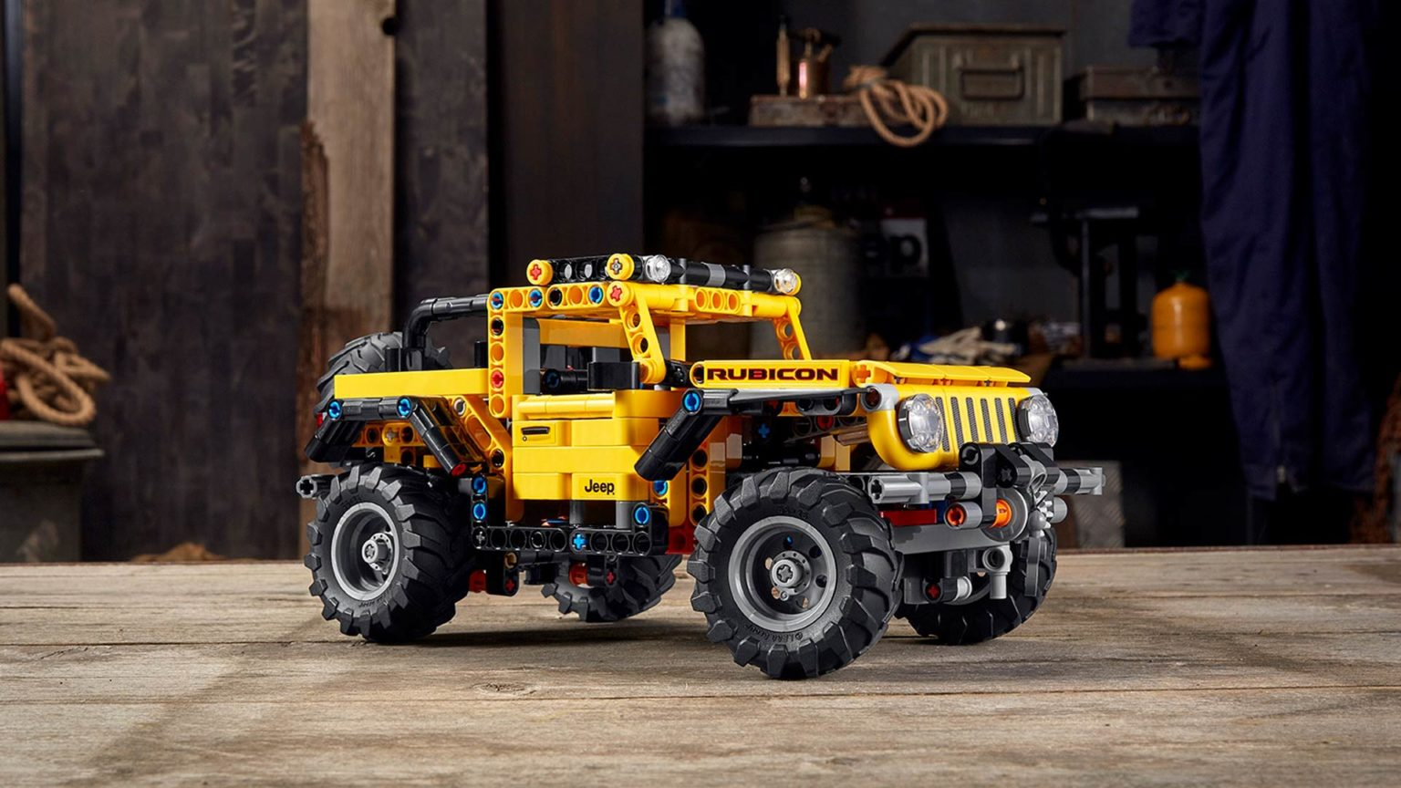 Jeep Now Has its Very Own LEGO Technic Model