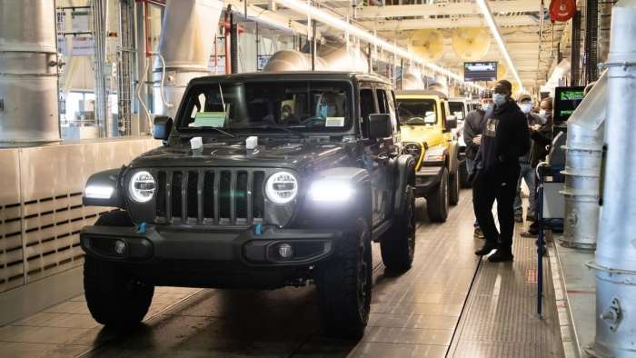 2021 Jeep Wrangler 4xe Joins the Toledo Assembly Line