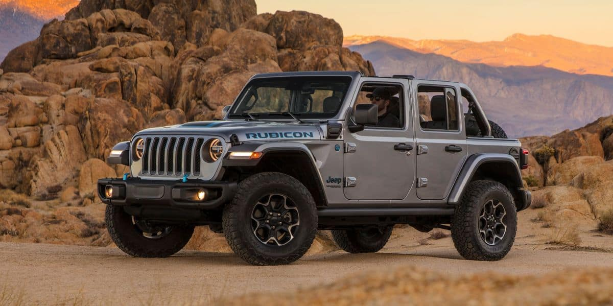 Say Hello to the No.1 Best-Selling PHEV In Q2, The 2021 Jeep Wrangler 4Xe