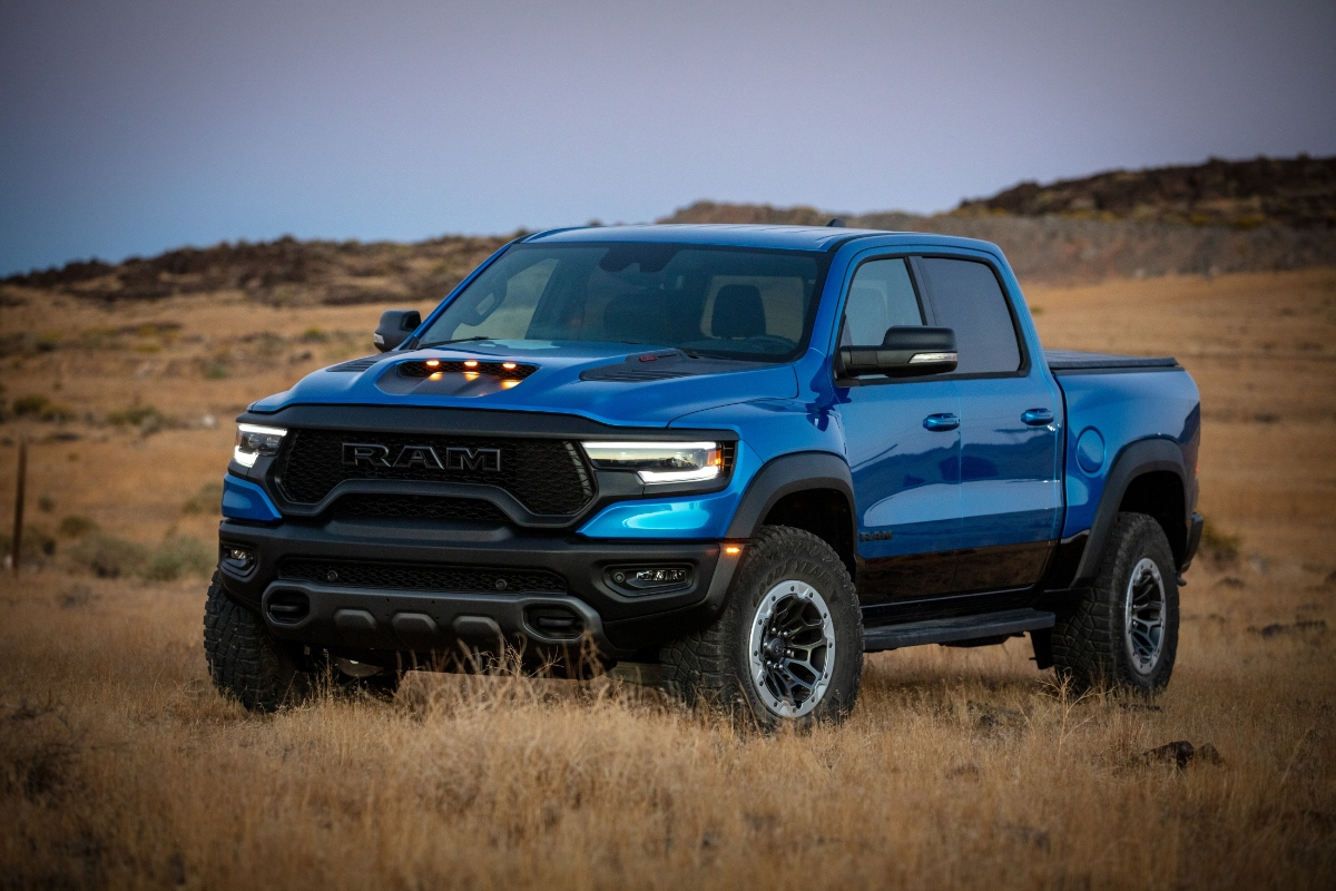 """The 2021 Ram 1500 TRX Strikes Again as the """"Truck of the Year"""""""