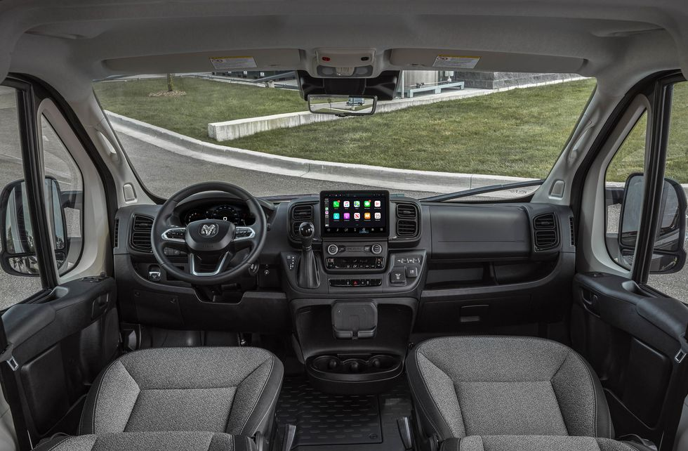 2022 Ram ProMaster Van Receives New Transmission and Technology