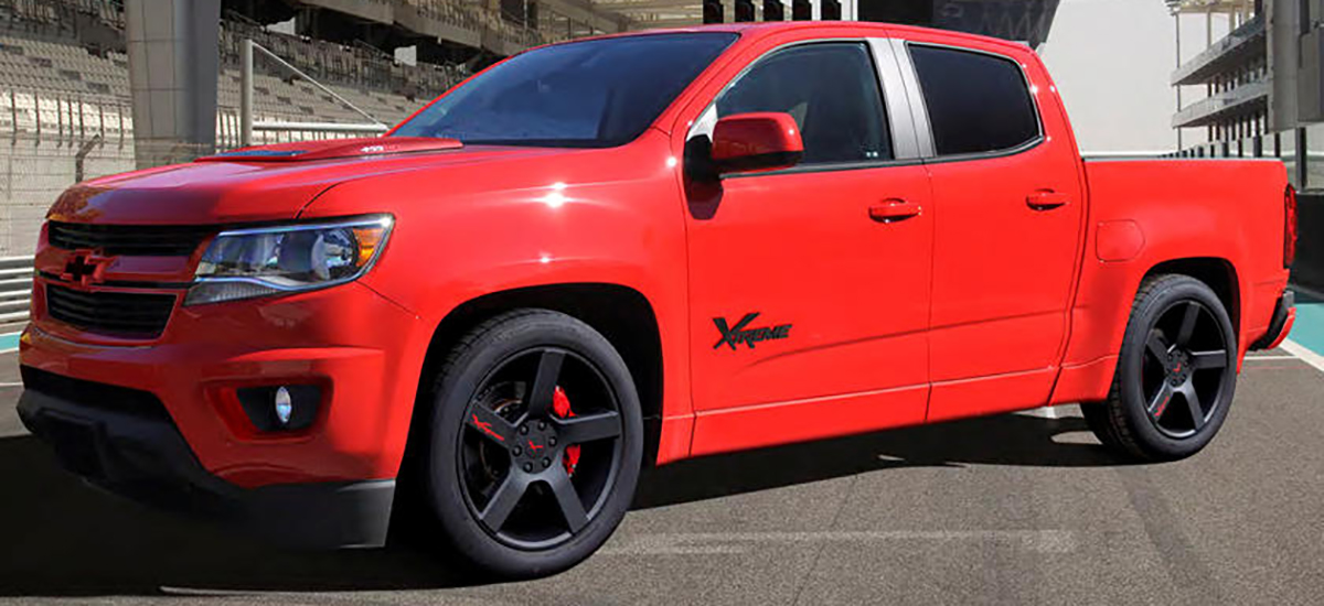 Custom 2020 Chevrolet Colorado Xtreme Comes In Limited Supply