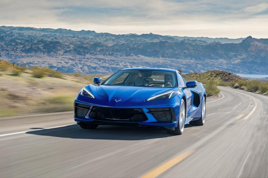 Chevrolet Designers Show Off Their Unofficial Split-Window Design For The Corvette C8
