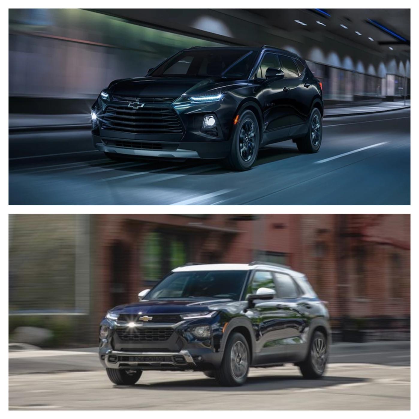 Chevrolet Blazer vs. Trailblazer: Two Peas In A Different Pod