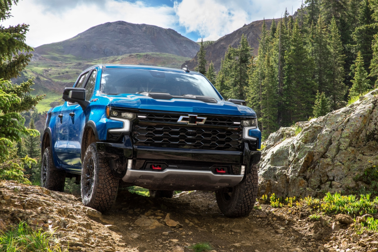 The 2022 Chevrolet Silverado Brings On A Larger Screen Among Several Features