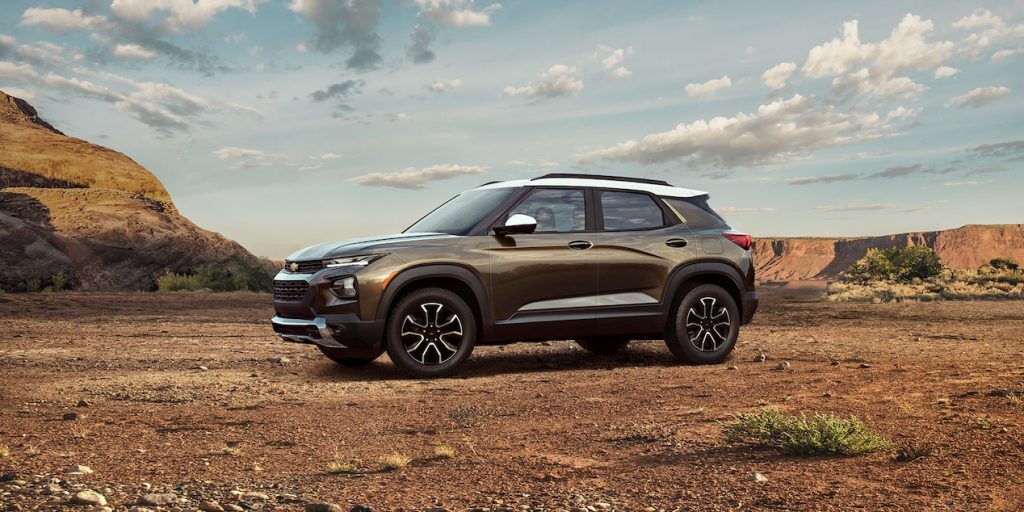 2022 Chevrolet Trailblazer Earns Top Safety Pick+ Rating from IIHS