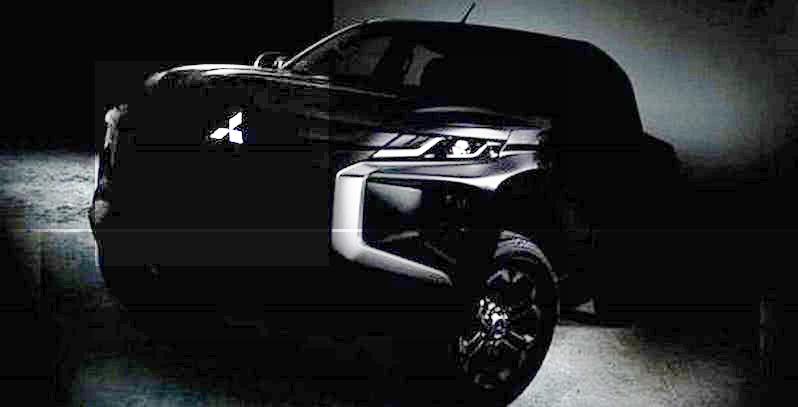 Get a Sneak Peek at the New Mitsubishi Pickup Truck