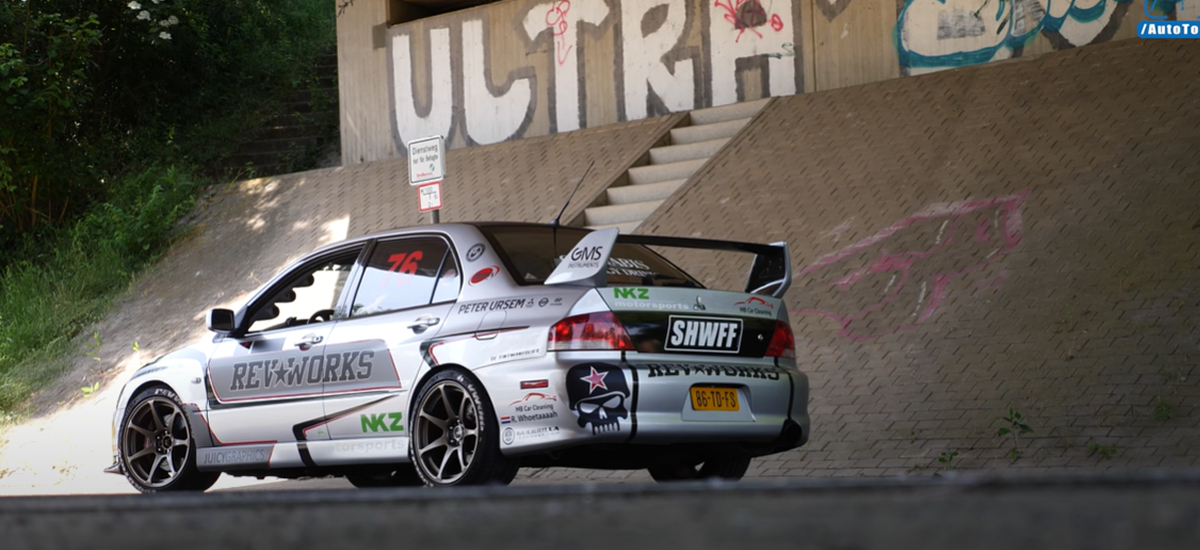 Check Out This Modified 706HP Lancer EVO