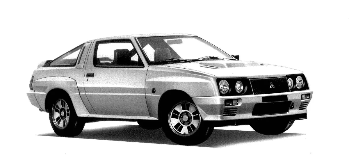 Cancelled Mitsubishi Starion 4WD is Revealed