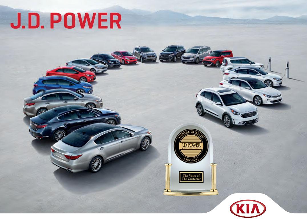 Miami Lakes JD Power Initial Quality Kia