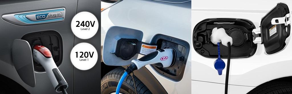 Plug-in Hybrid Electric Vehicles (PHEVs) from Mitsubishi Motors and Kia Motors