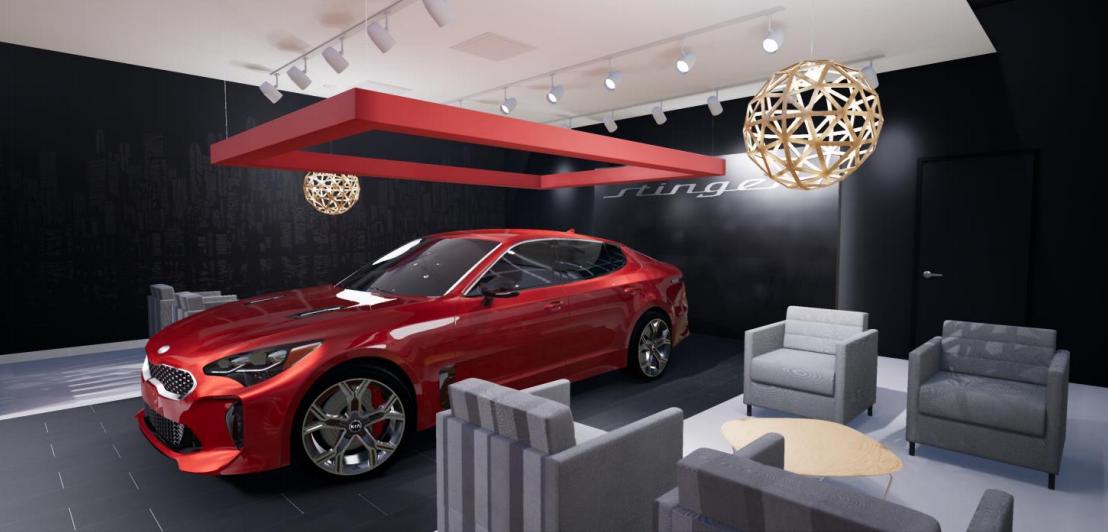 Miami Lakes Automall Kia Stinger Salon