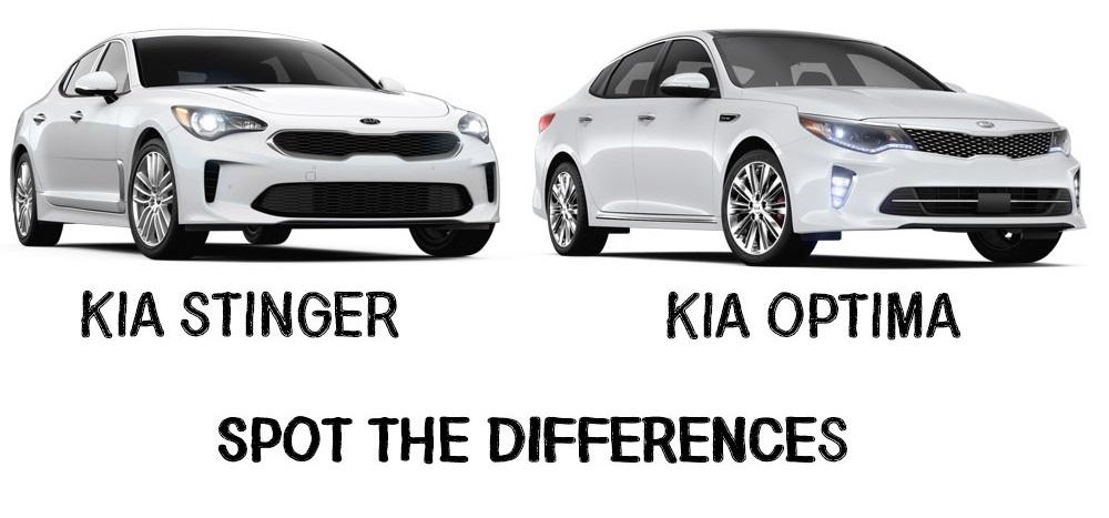 Miami Lakes Automall Kia Stinger Optima Comparison